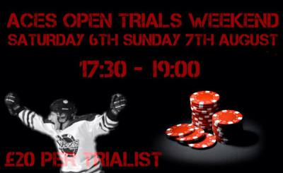 Aces Open Trial Weekend