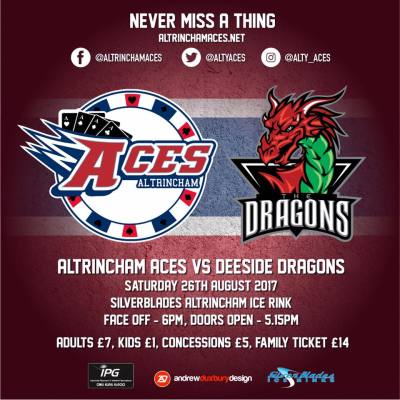 Aces Vs Deeside Dragons - Pre Season Challenge Games